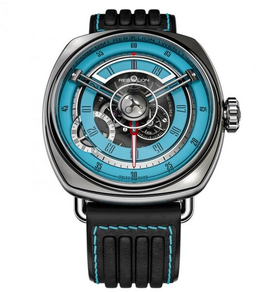 Rebellion Twenty-One GMT Turquoise replica watches
