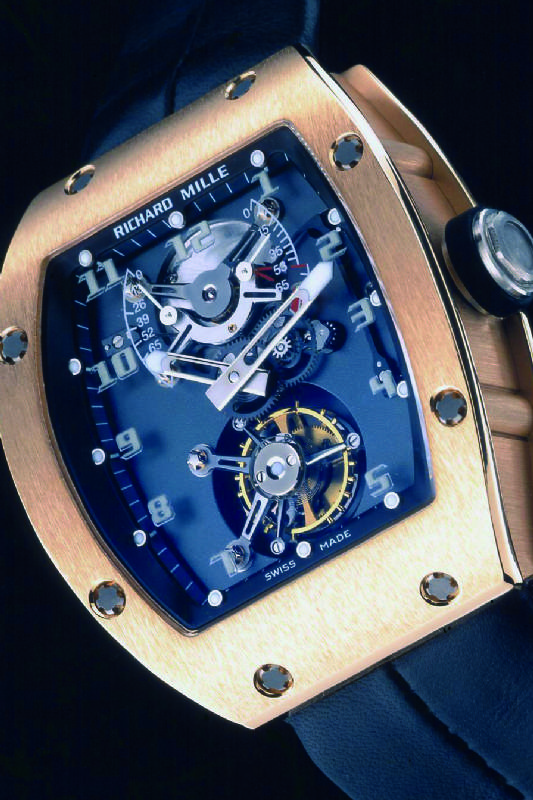 Replica Richard Mille RM 001 rose gold Watch