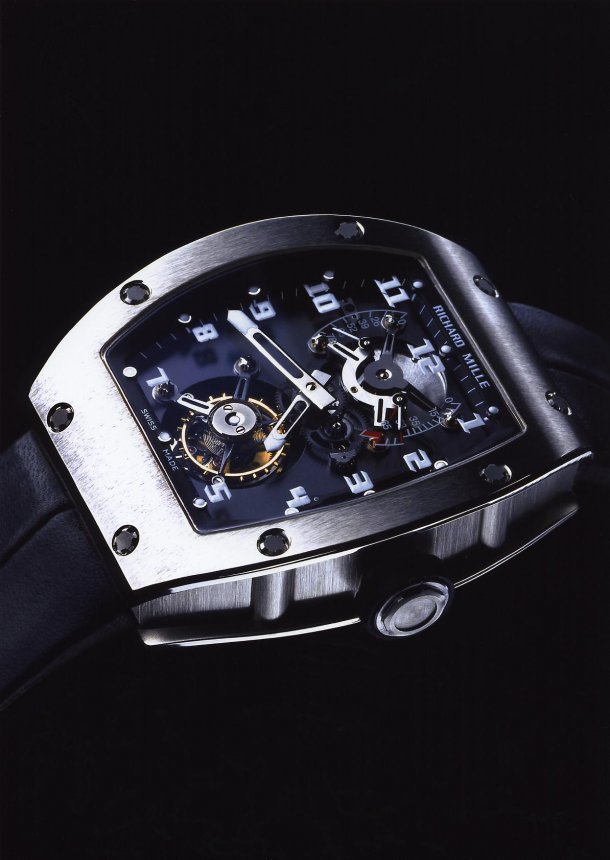 Replica Richard Mille RM 001 white gold Watch