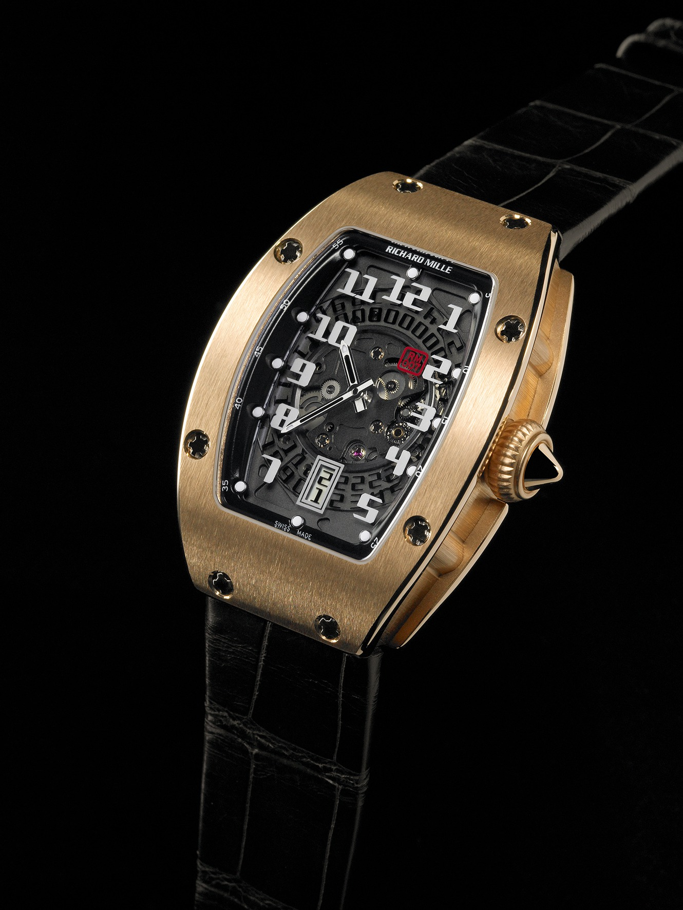 Replica Richard Mille RM 007 Red Gold Watch