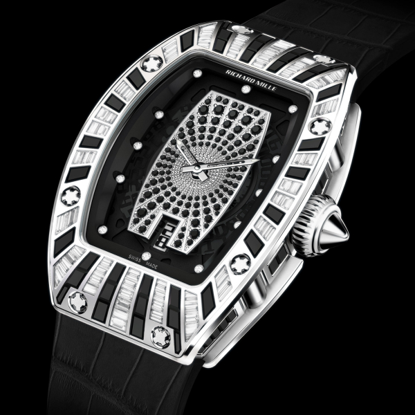 Replica Richard Mille RM 007 WG full set, full pave dial 506.064.604 Watch