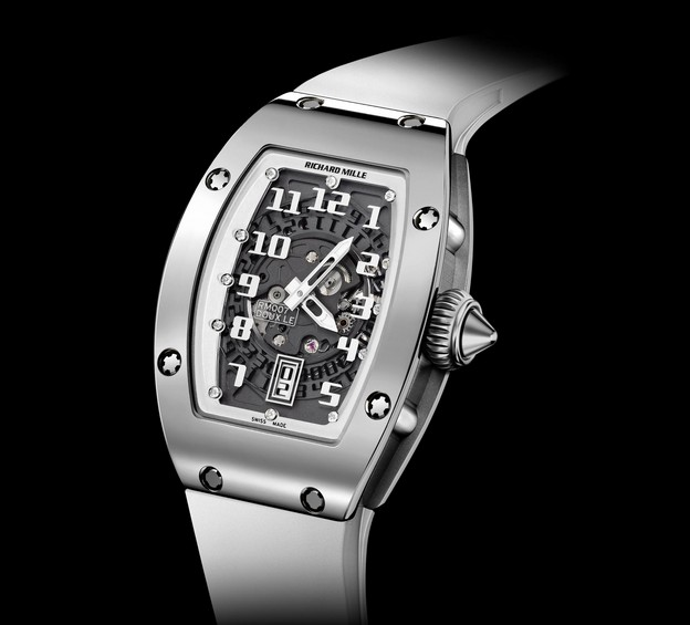 Replica Richard Mille RM 007 White Night Doux Joaillier White Gold Watch