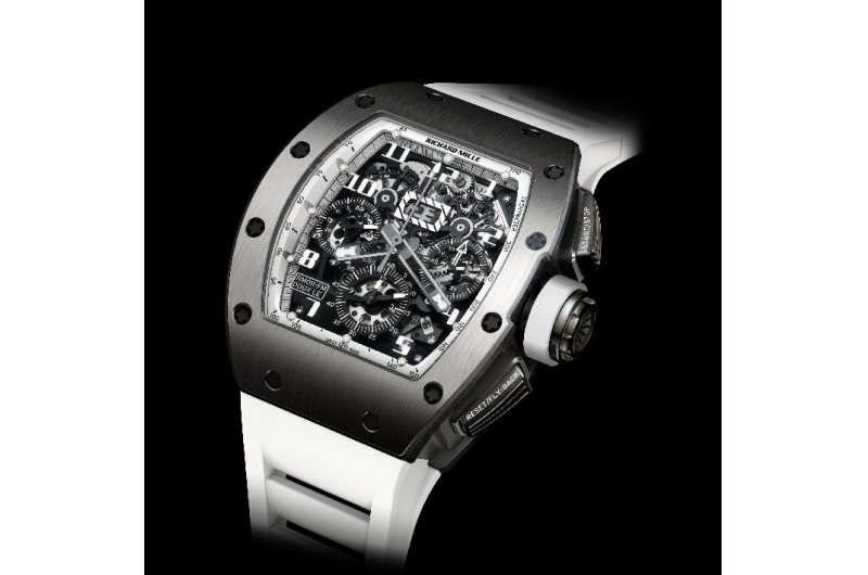 Replica Richard Mille RM 011 America 4 White Watch