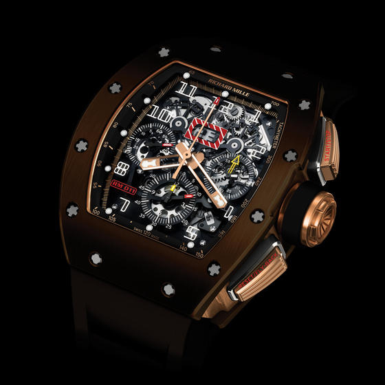 Replica Richard Mille RM 011 BROWN SILICON NITRIDE Watch