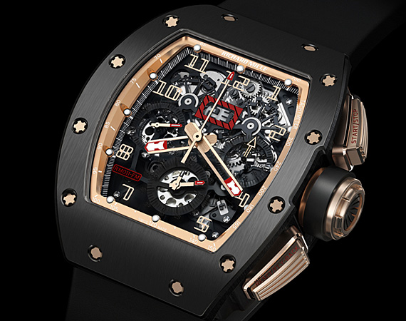 Replica Richard Mille RM 011 FELIPE MASSA FLYBACK CHRONOGRAPH BLACK KITE Watch