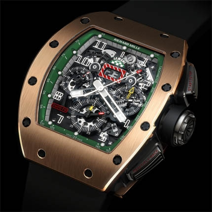 Replica Richard Mille RM 011 Le Mans Classic Rose Gold Watch