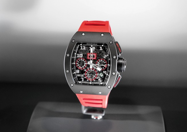 Replica Richard Mille RM 011 RED Felipe Massa Flyback Chronograph Watch