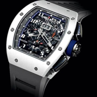 Richard Mille Replica RM 011 Saint Tropez Polo Club White ATZ Ceramic and Titanium