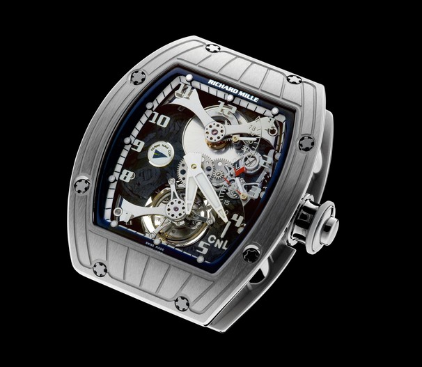 Replica Richard Mille RM 014 Perini Navi Cup White Gold Watch