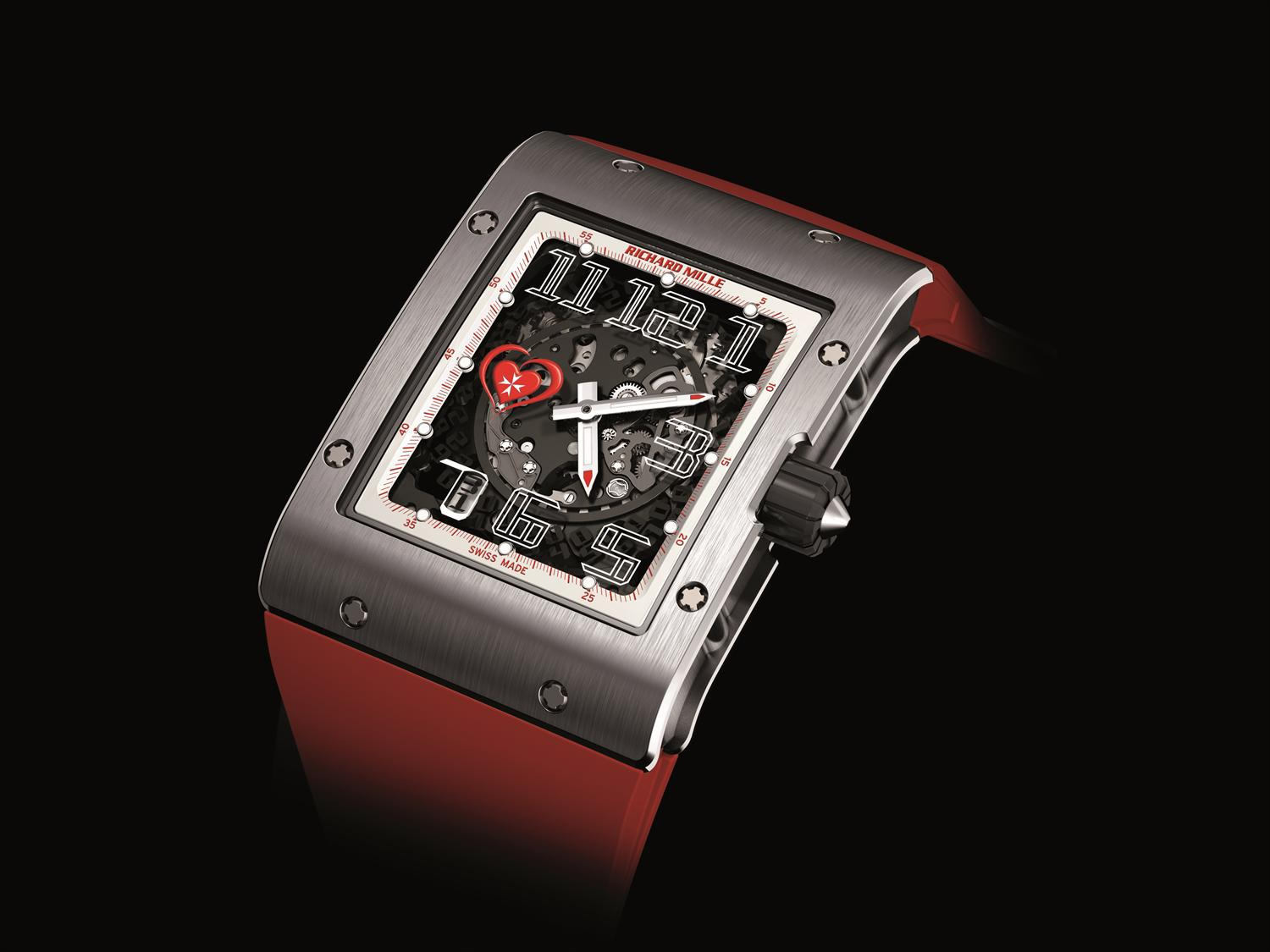 Replica Richard Mille RM 016 Automatic Help Them Onlus White Gold Watch