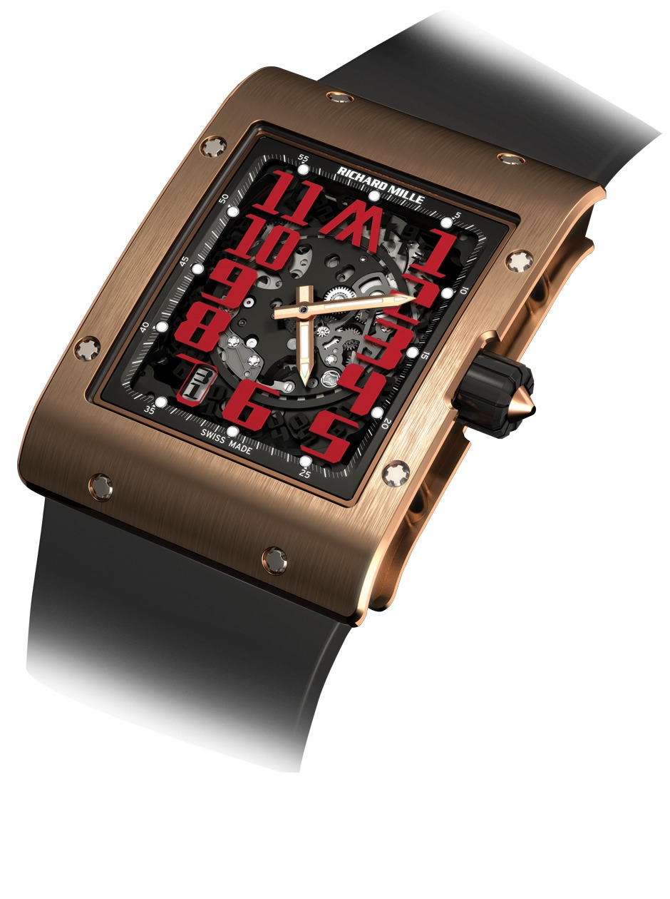 Replica Richard Mille RM 016 Automatic Marcus Red Gold Watch
