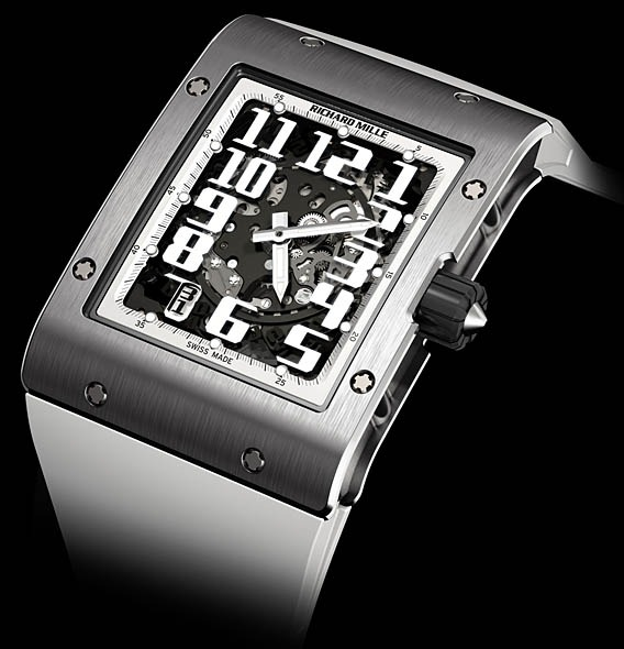 Replica Richard Mille RM 016 Automatic White Night Doux Joaillier White Gold Watch