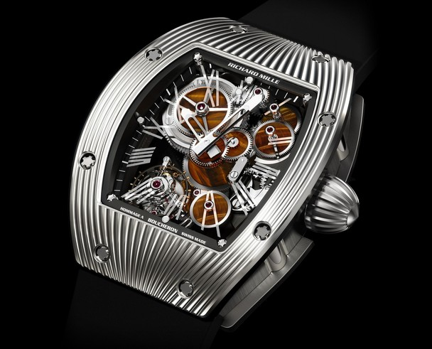 Replica Richard Mille RM 018 Hommage to Boucheron White Gold Watch