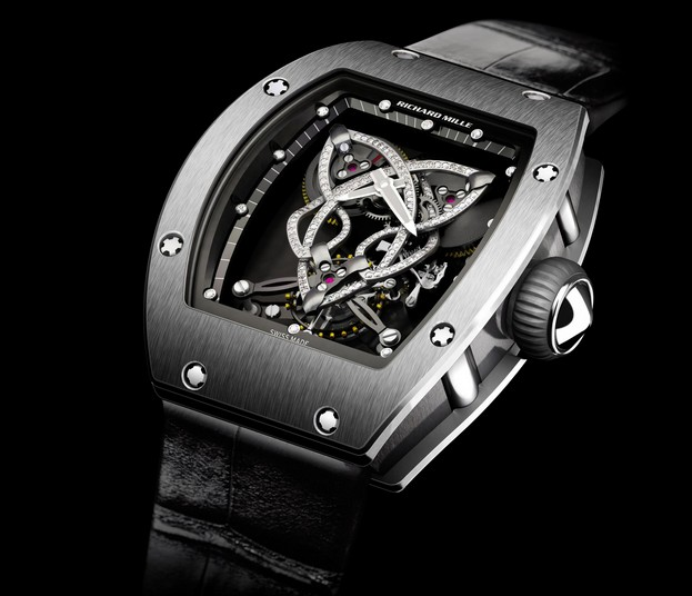 Replica Richard Mille RM 019 Tourbillon White Gold Watch