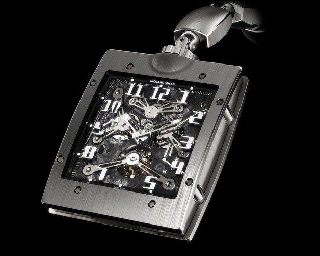 Replica Richard Mille RM 020 Pocket Titanium Watch