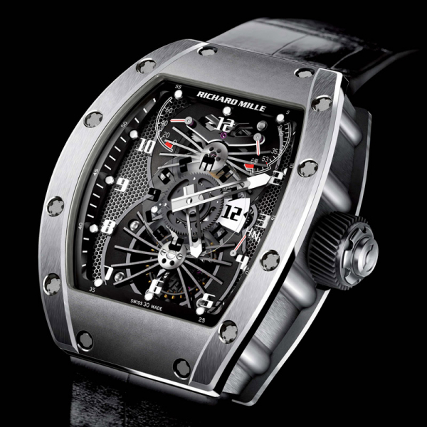 Replica Richard Mille RM 022 Or Blanc Watch