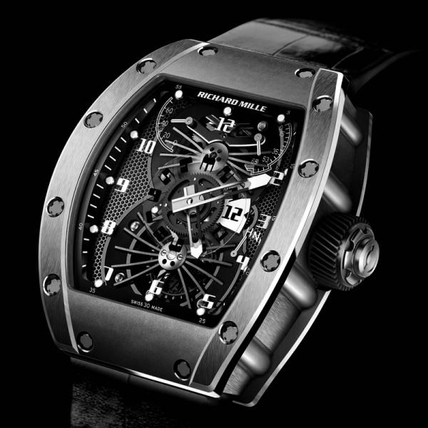 Replica Richard Mille RM 022 Or Rouge Watch