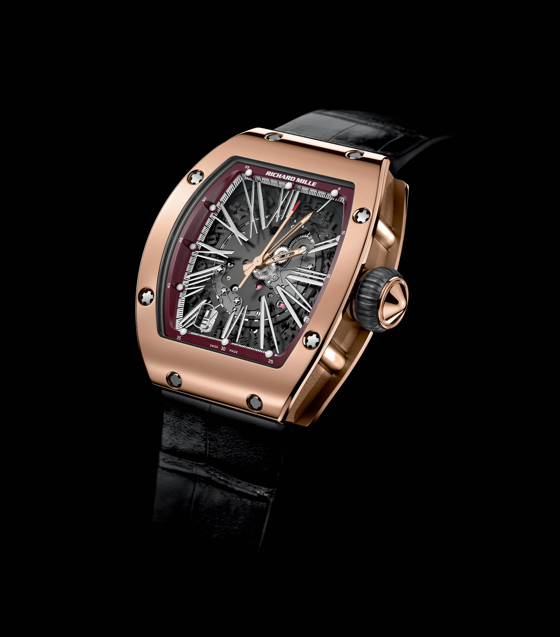 Replica Richard Mille RM 023 Automatic Red Gold Watch