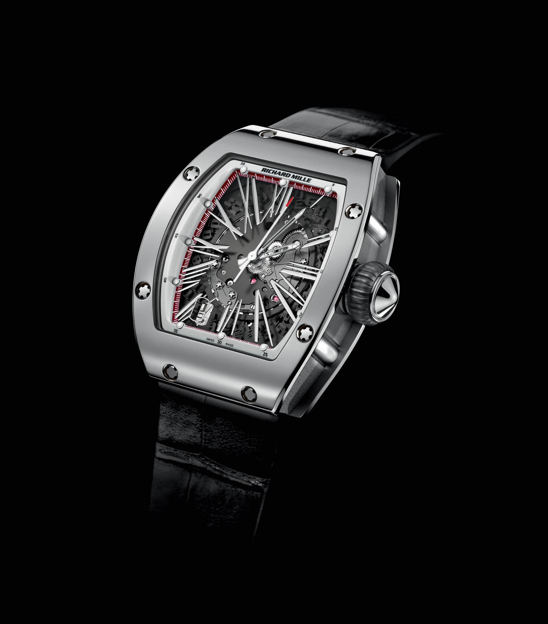Replica Richard Mille RM 023 Automatic White Gold Watch