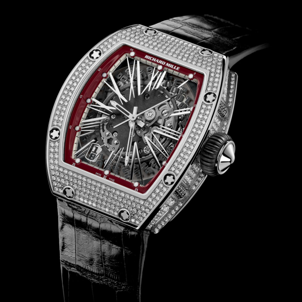 Replica Richard Mille RM 023 WG medium set 523.061.91-1 Watch