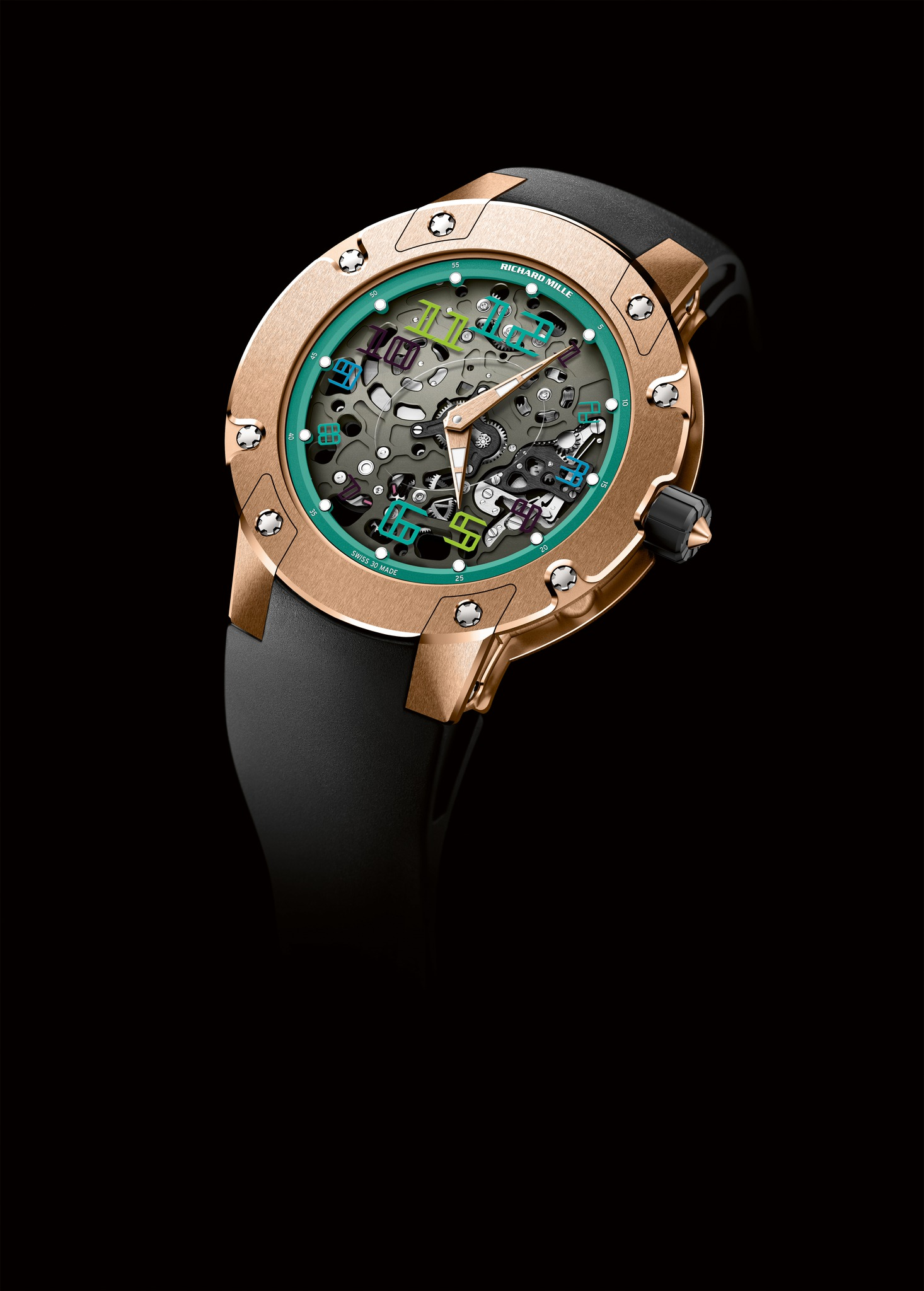 Replica Richard Mille RM 033 Sentebale Red Gold Watch