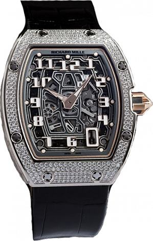 Buy Replica Richard Mille RM 067-01 WG Full set watch Review