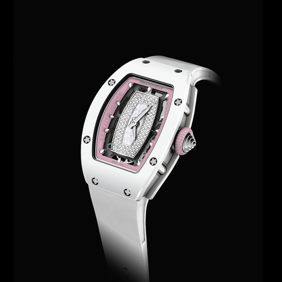 Buy Replica Richard Mille RM 07-01 WHITE CERAMIC DIAMONDS swiss watch Review