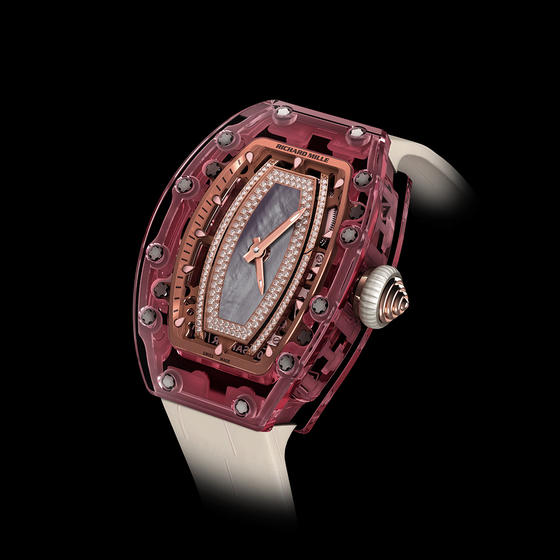 Replica Richard Mille RM 07-02 AUTOMATIC PINK SAPPHIRE Watch