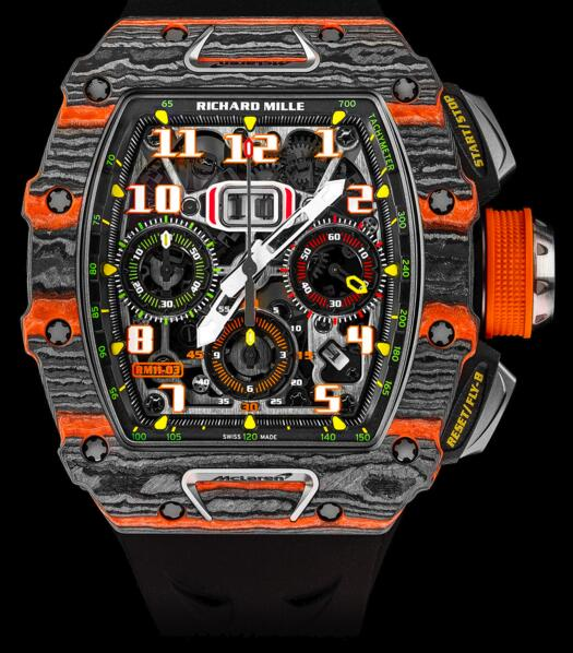 Replica Richard Mille RM 11-03 Flyback Chronograph McLaren watch