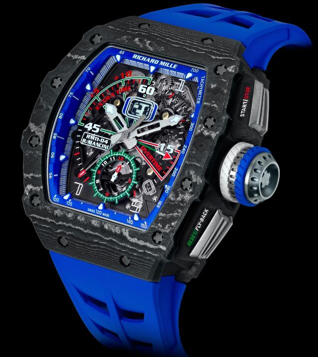 Richard Mille replica RM 11-04 Automatic Flyback Chronograph Roberto Mancini watch
