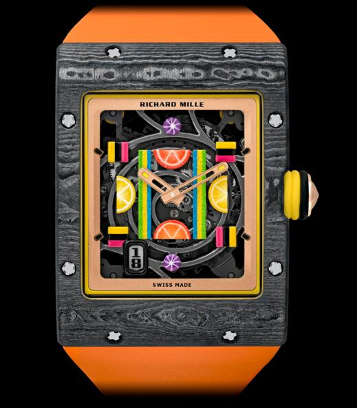 2019 Replica Richard Mille RM 16-01 Automatic Citron watch