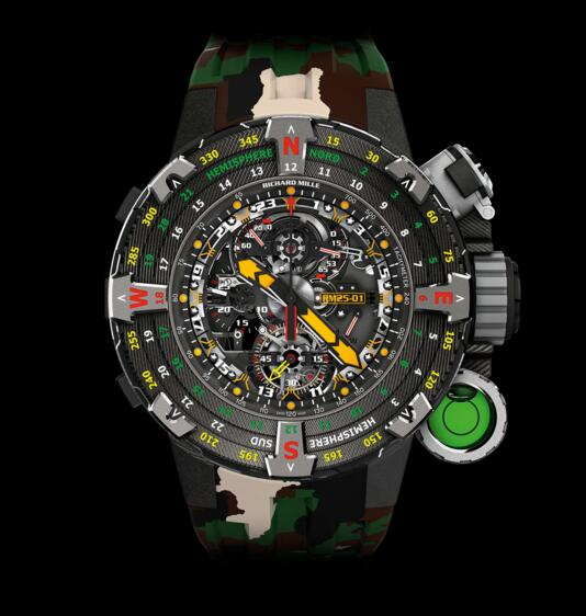 New Luxury Replica Richard Mille RM 25-01 Tourbillon Adventure Sylvester Stallone watch