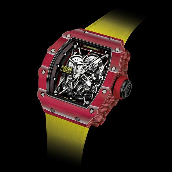 Replica Richard Mille RM 35-02 RAFAEL NADAL AUTOMATIC QUARTZ-TPT RED Watch