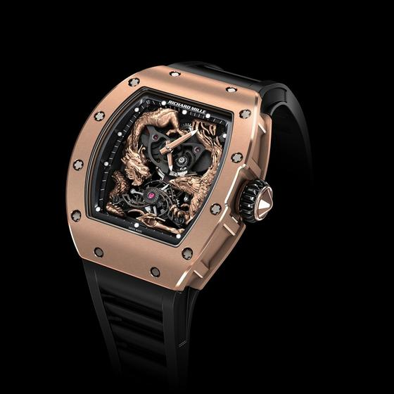 Buy Replica Richard Mille RM 57-01 PHOENIX AND DRAGON JACKIE CHAN watch Review