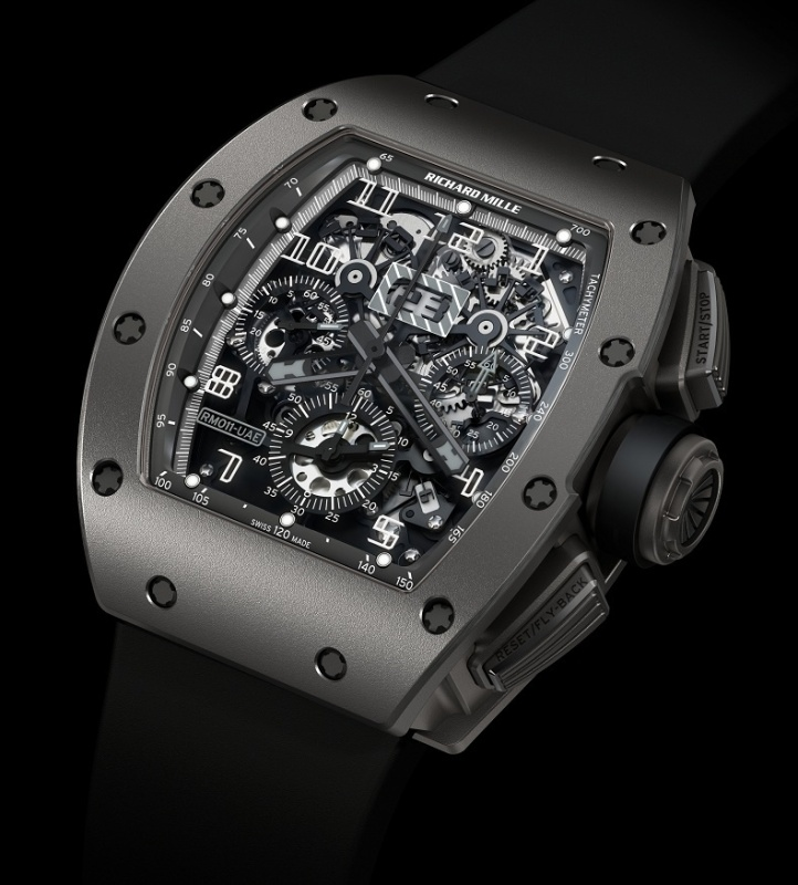 Replica Richard Mille RM011 All Grey UAE 7 LE Watch