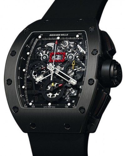 Replica Richard Mille RM011 Flyback Chronograph Black Watch
