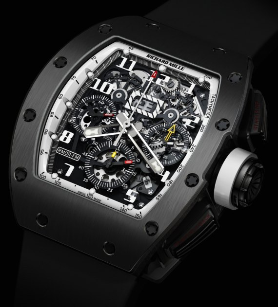 Replica Richard Mille RM011 Ti Americas White Limited Edition Watch