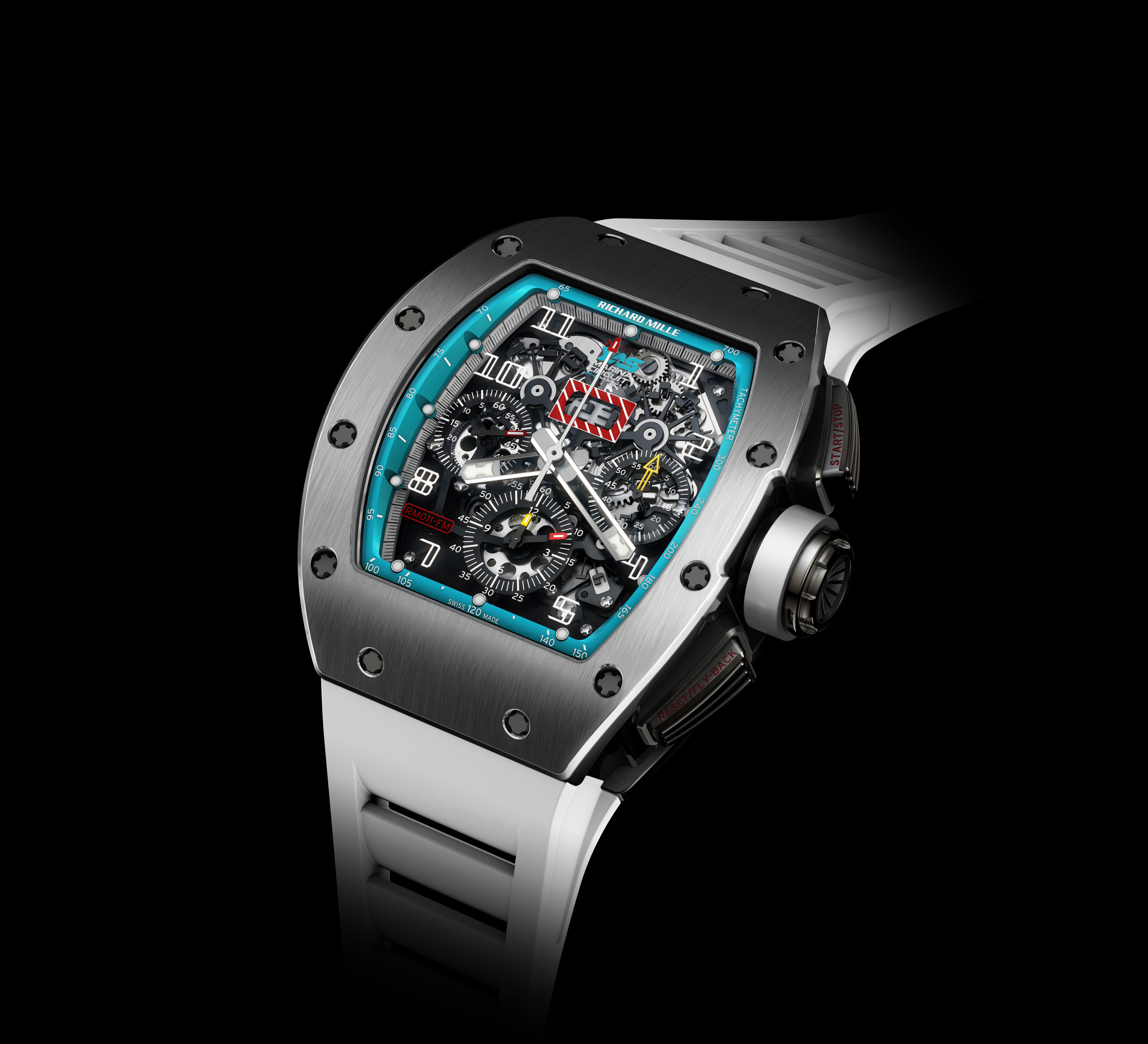 Replica Richard Mille RM011 Yas Marina Circuit Limited Edition Watch