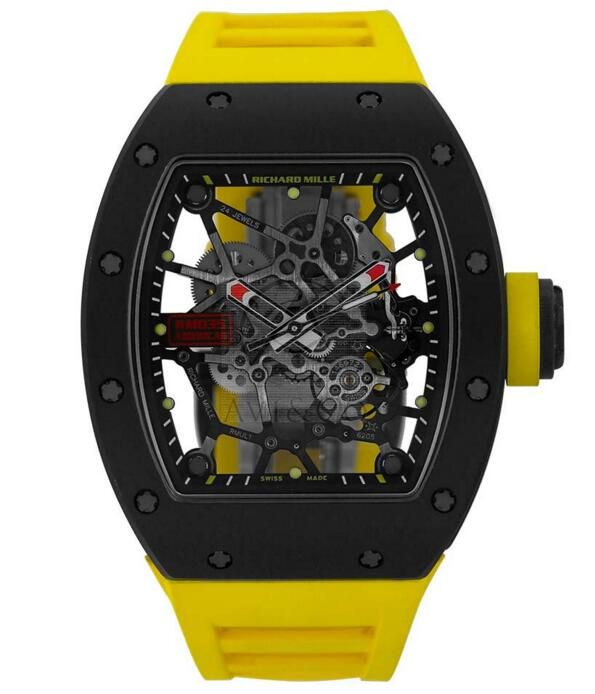 Buy Replica Richard Mille Rafael Nadal TZP Ceramic NTPT Carbon Watch RM035