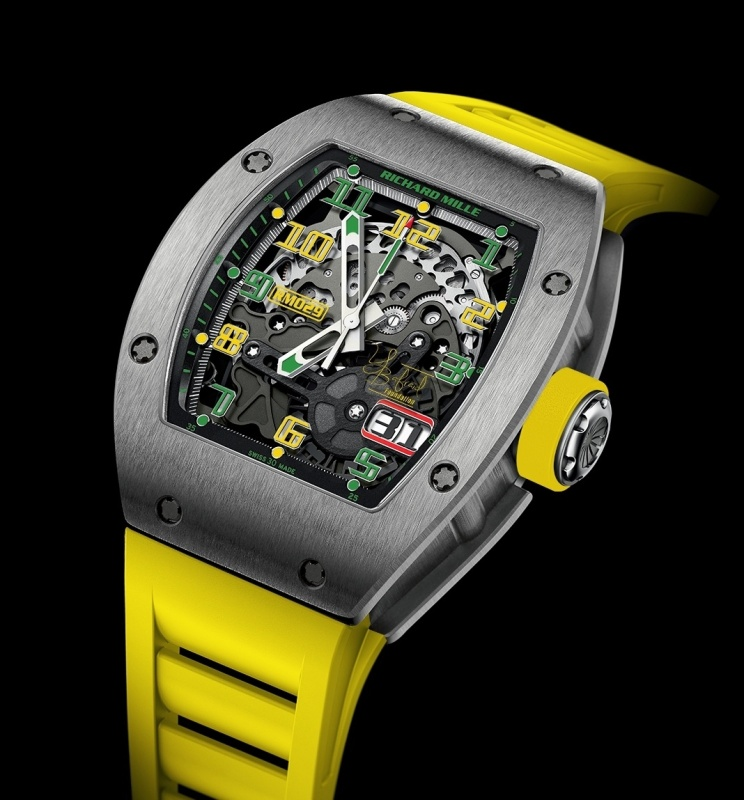 Replica Richard Mille RM 029 Watch RM29 YB limited edition