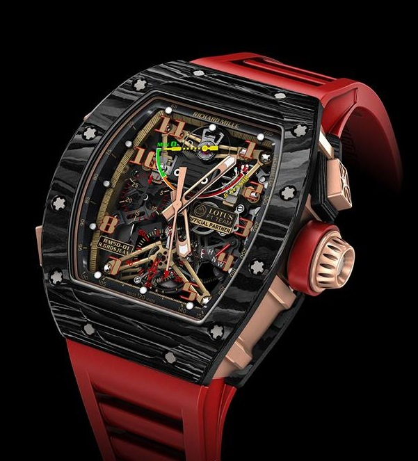 Replica Richard Mille RM50-01 Lotus F1 Team Romain Grosjean Watch