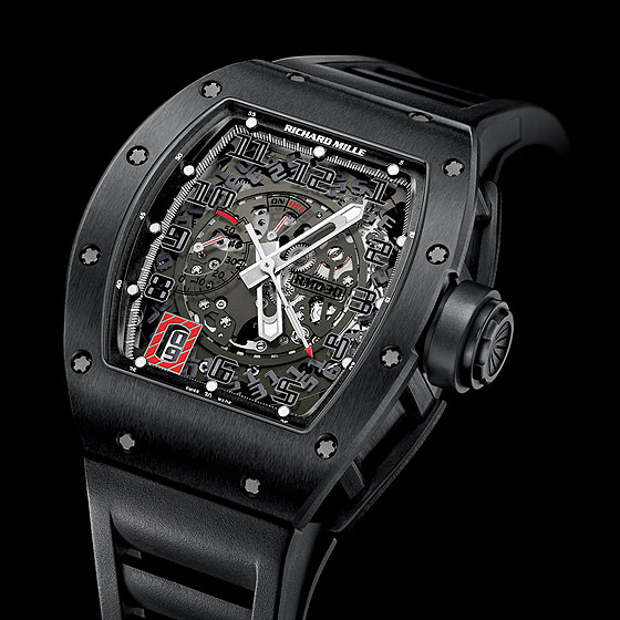 Replica Richard Mille RM 030 Watch RM 030 Black Out