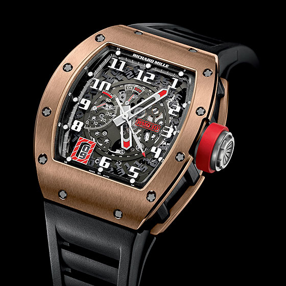 Replica Richard Mille RM 030 Watch RM 030 Black Rose