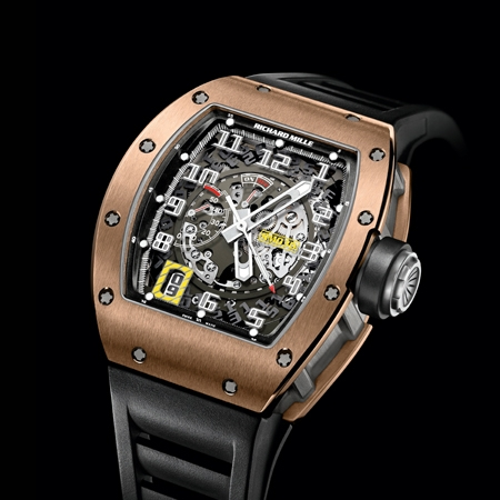 Replica Richard Mille RM 030 Automatic Declutchable Rotor RG Men Watch