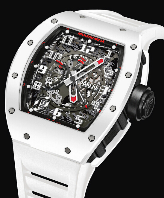 "Replica Richard Mille RM 030 2015 RM 030 ""Whtie Rush"" Limited Edition Men Watch"