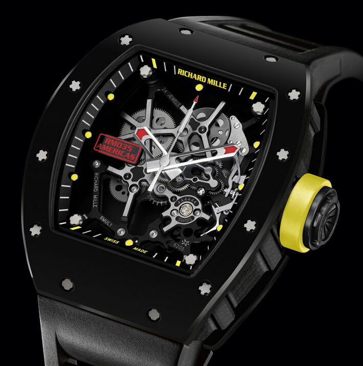 Replica Richard Mille RM 035 2015 RM 035 Carbon Limited Edition Men Watch