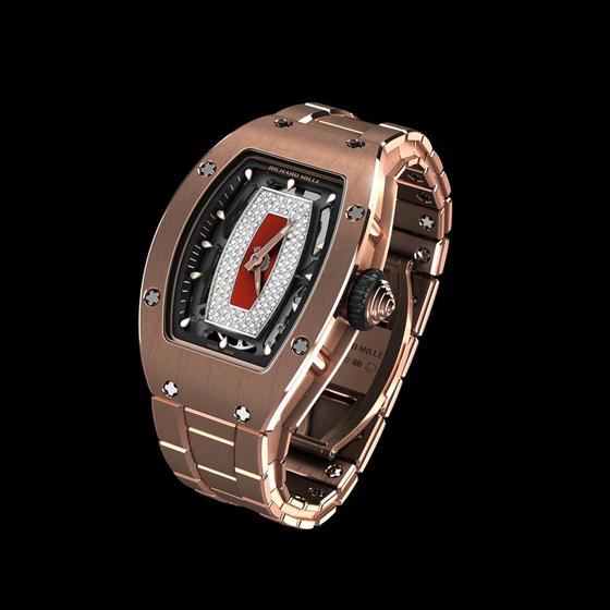 Replica Richard Mille RM007 Collection RM 07-01 GOLD BRACELET Women Watch