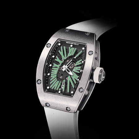Replica Richard Mille RM 007 Automatic Ladies Green(2012) Women Watch