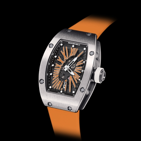 Replica Richard Mille RM 007 Automatic Ladies Orange(2012)Women Watch