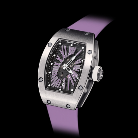 Replica Richard Mille RM 007 Automatic Ladies Purple(2012)Women Watch